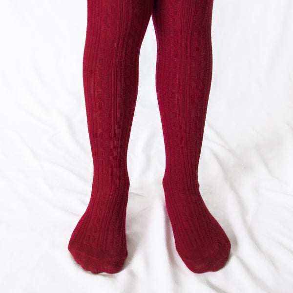 Tights - Wine Red