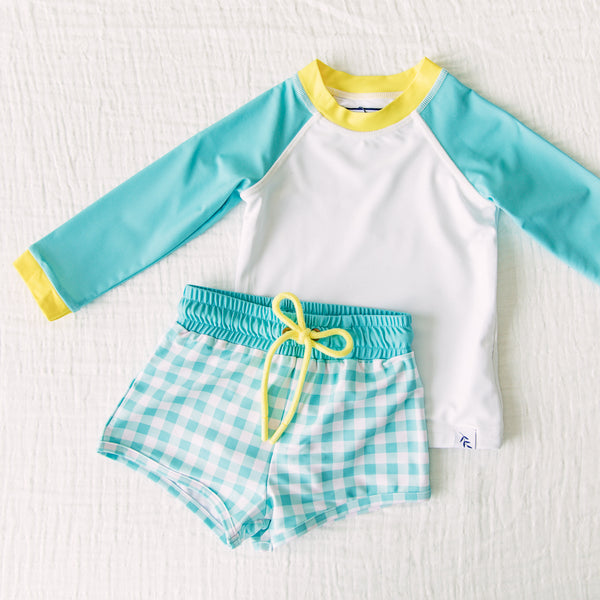 Boy's Swim Set - Beach Days
