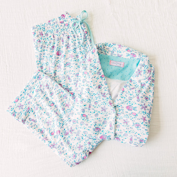 Women's Cozy PJs - Underwater