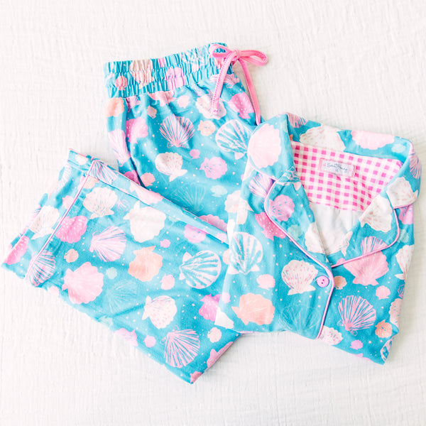 Women's Cozy PJs - Seashell