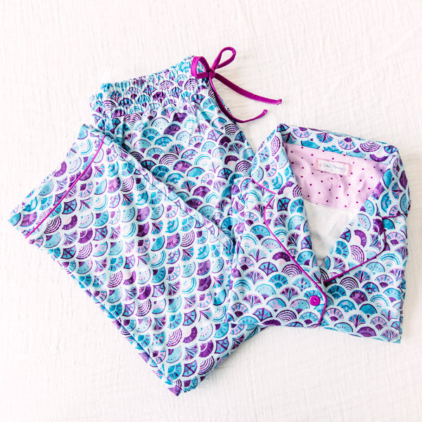 Women's Cozy PJs - Mermaid