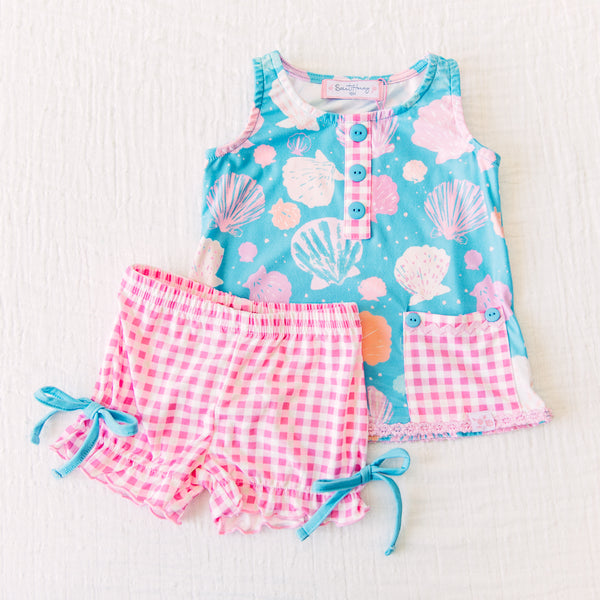 Dreamer Shortie Set - Seashell