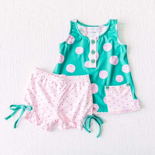 Dreamer Shortie Set - Sand Dollar