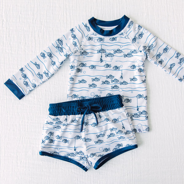 Boy's Swim Set - Fish