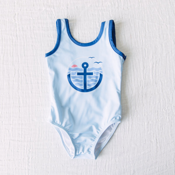 Mary One Piece - Nautical