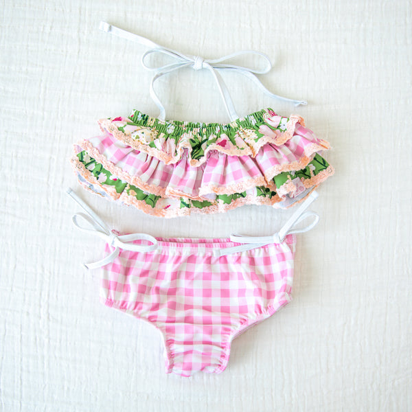 Milly Frilly Crop - Green Thumb