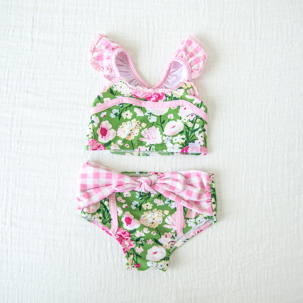 Retro Tankini - Green Thumb