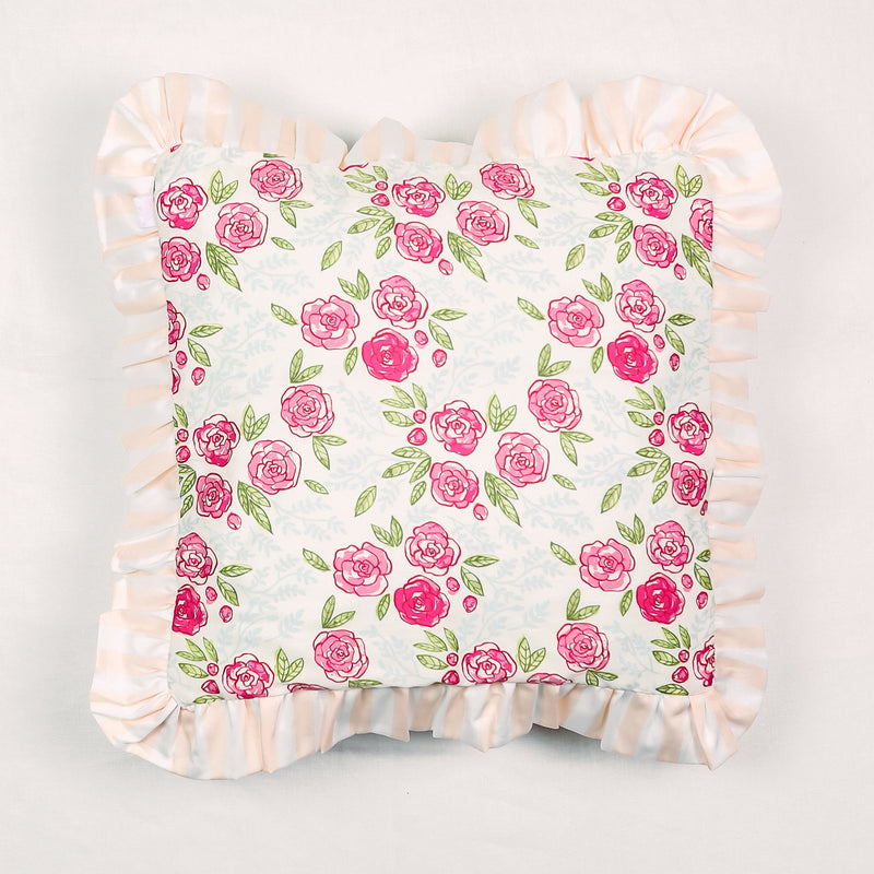 14 x 14 Pillow - Easy Peasy Pinks
