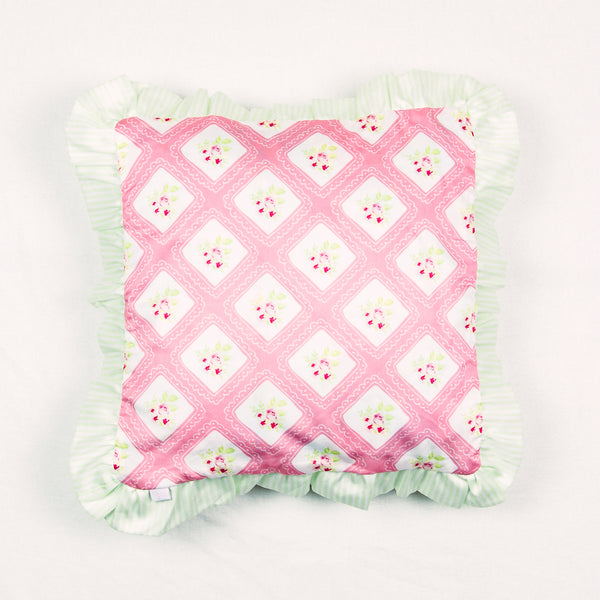14 x 14 Pillow - Bright Petit Four