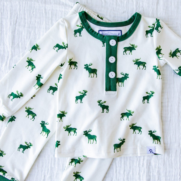 Dreamer 2 Piece - Green Moose