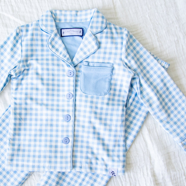 Cozy PJs - Blue Check