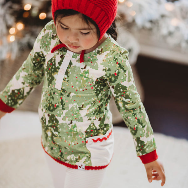 Dreamer 2 Piece - Girl's Twinkle Trees