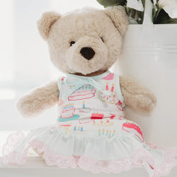 Doll Gown - Happy Birthday