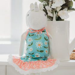 Doll Gown - Sunny Flowers