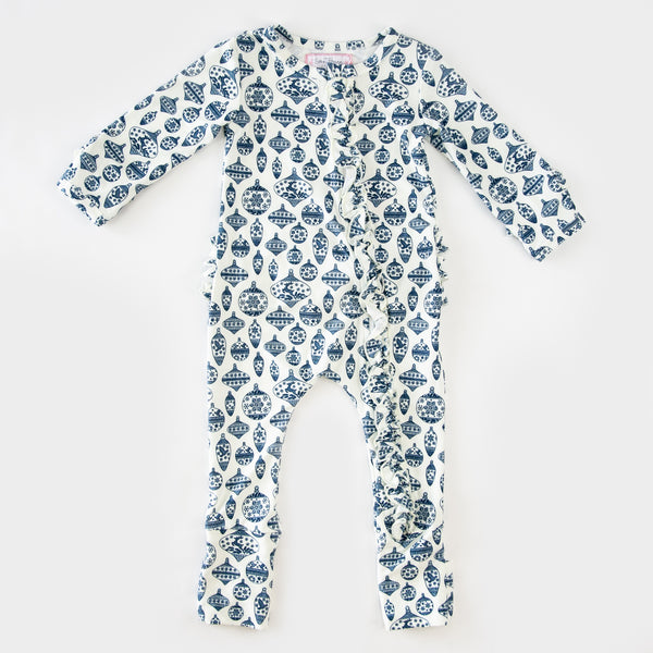 Dreamer Layette - Vintage Ornaments Navy
