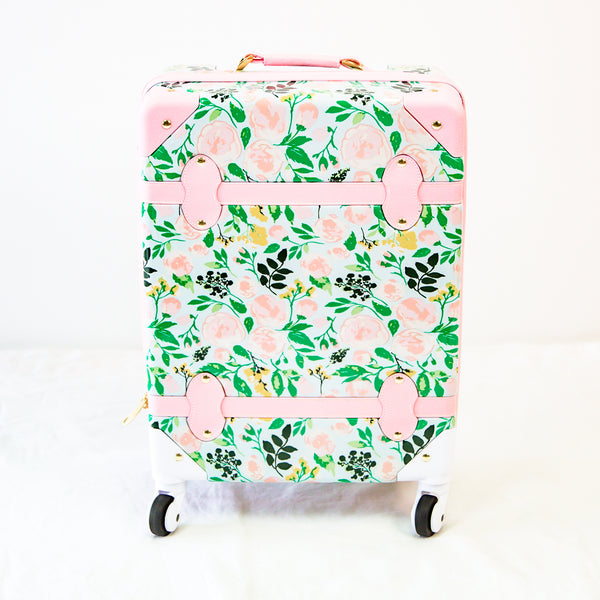 Lennon Traveling Luggage - Fresh Natural Blooms