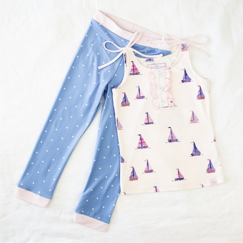 Dreamer 2-Piece - Let's Go Sailing
