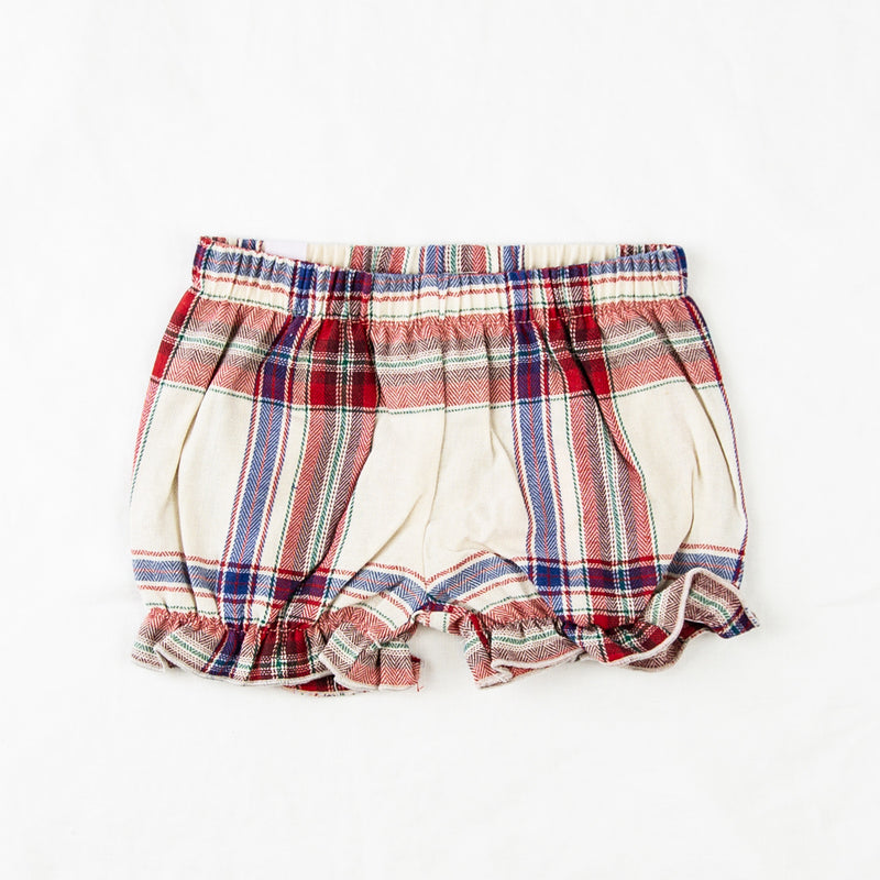 Bloomers - Red Plaid