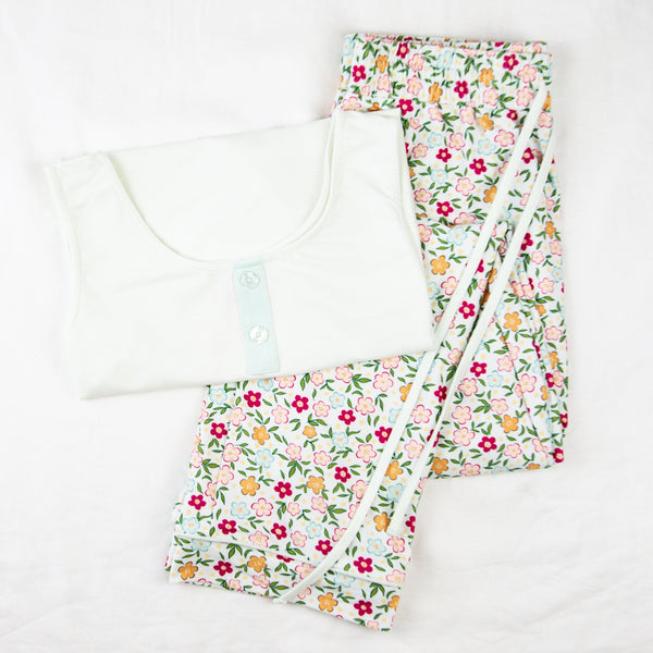 Women's Cozy PJ - Bubbly Floral
