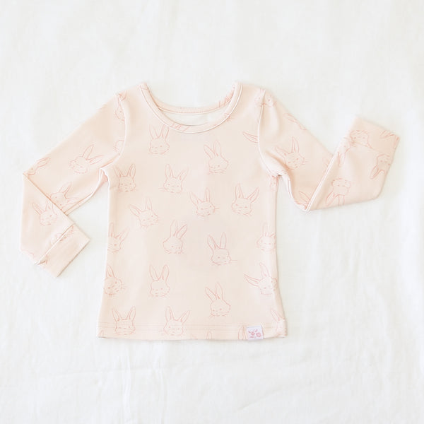 Lanie Layering Top - Cuddle Bunny Pink