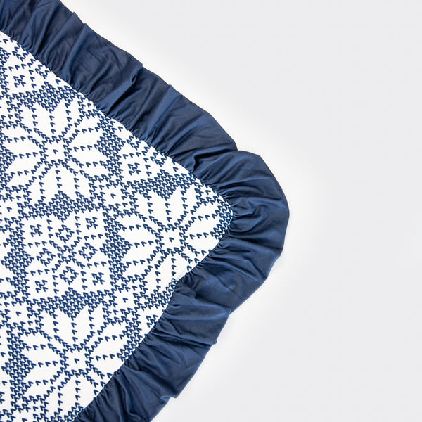 Dreamer Blanket - Sweater Snowflake Navy