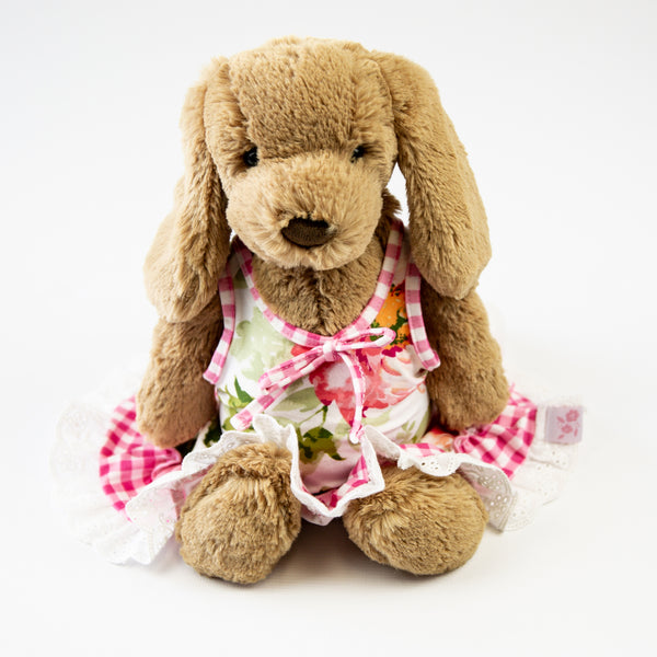 Doll Gown - Bright Floral
