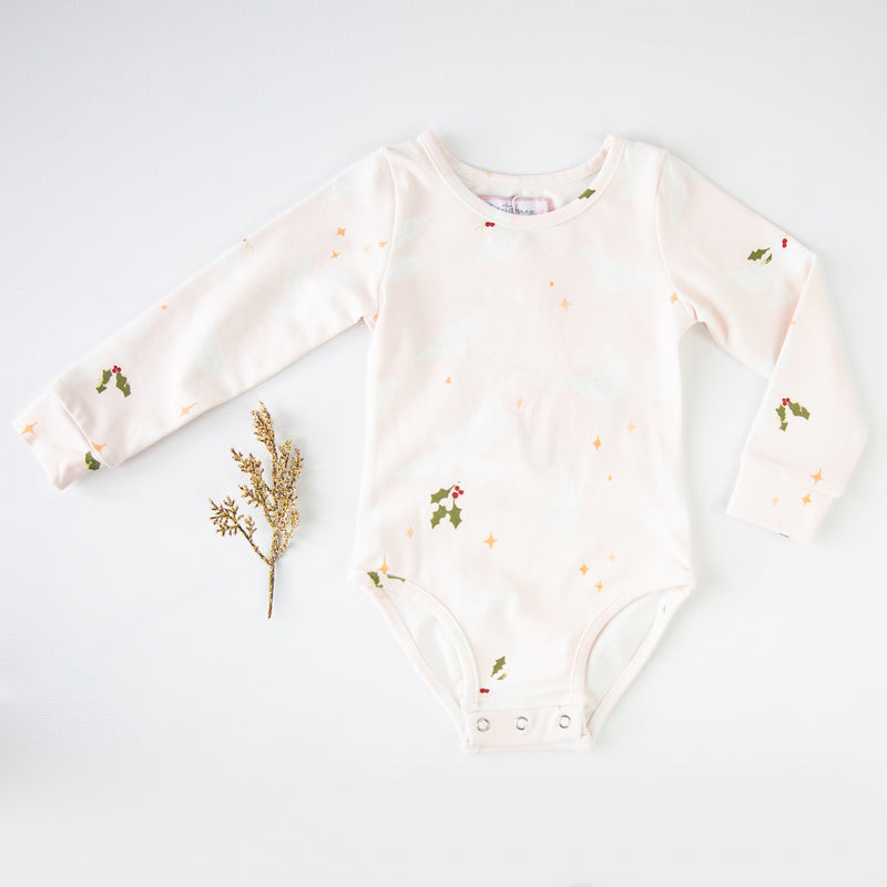 Lanie Layering Bodysuit - Peace Dove - Final Sale