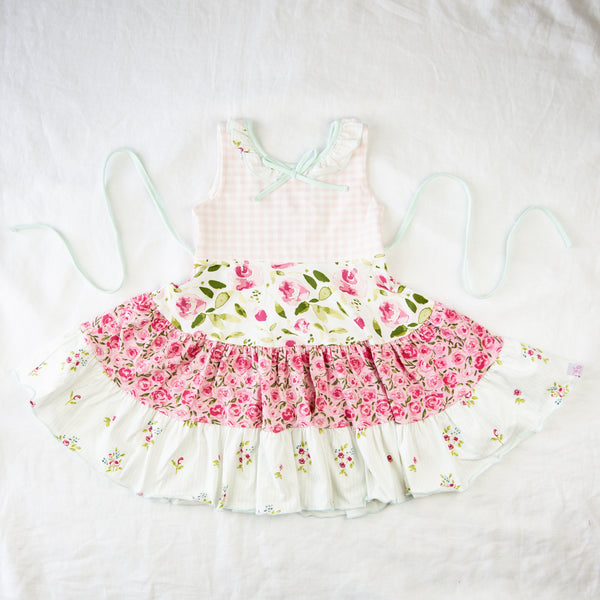 Flair Dress - Happy Pink