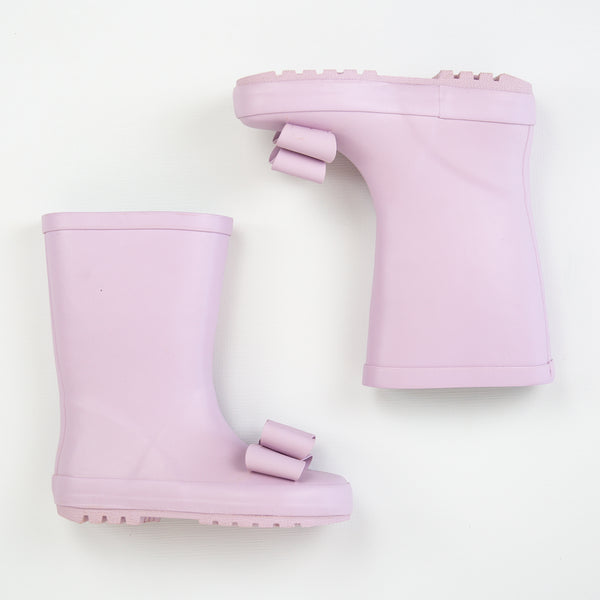Cheery Rain Boot - Lilac