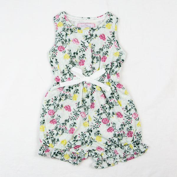 Recess Romper - Botanical Waves