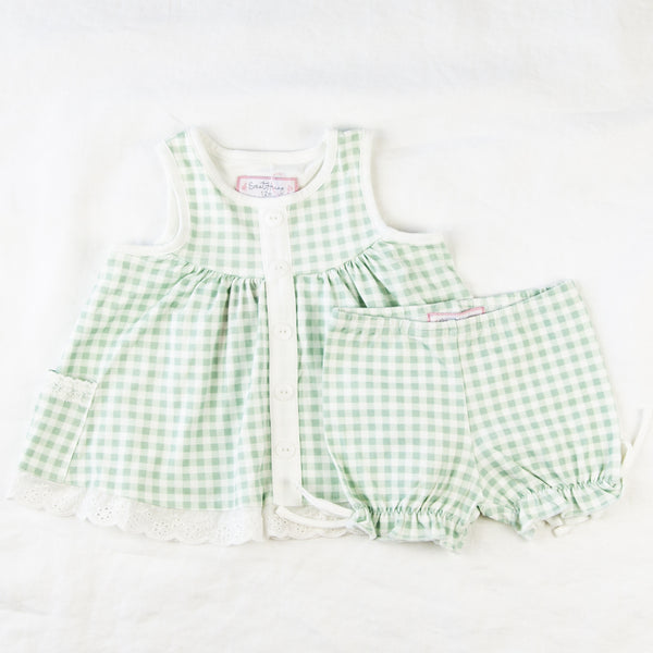Out to Play Set - Ice Cream Gingham