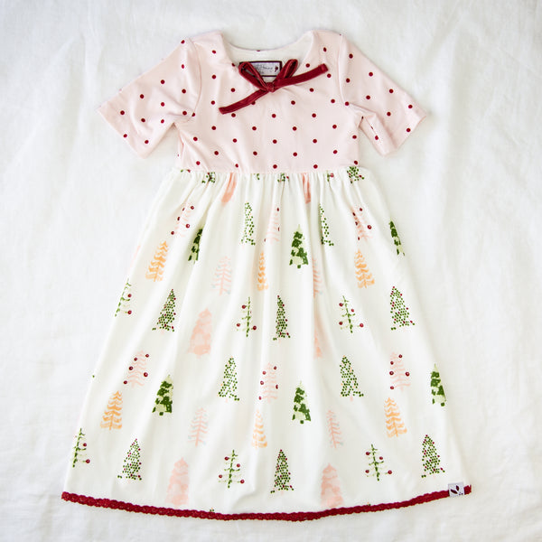 Dreamer Long Gown - Whimsy Trees