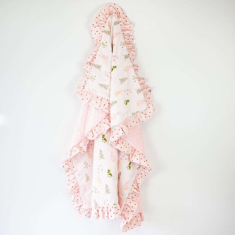 Minky Blanket - Whimsy Trees