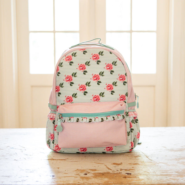 Ridley Backpack - Sweet Peonies
