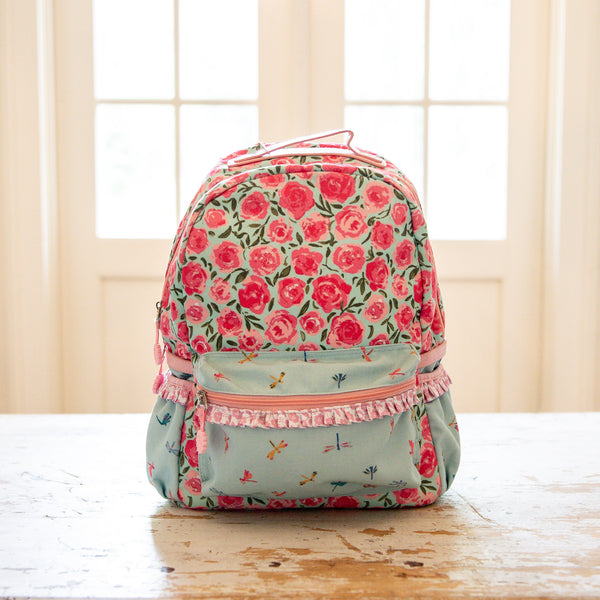 Ridley Backpack - Covered in Roses