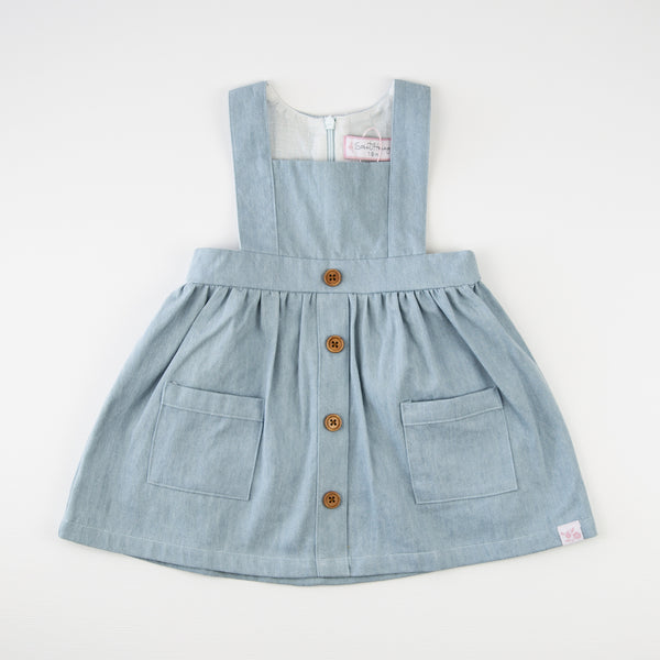 Julie Jumper - Washed Denim