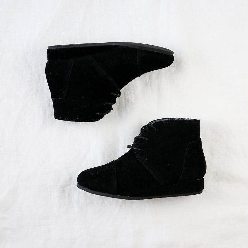 Wedge Boot - Black