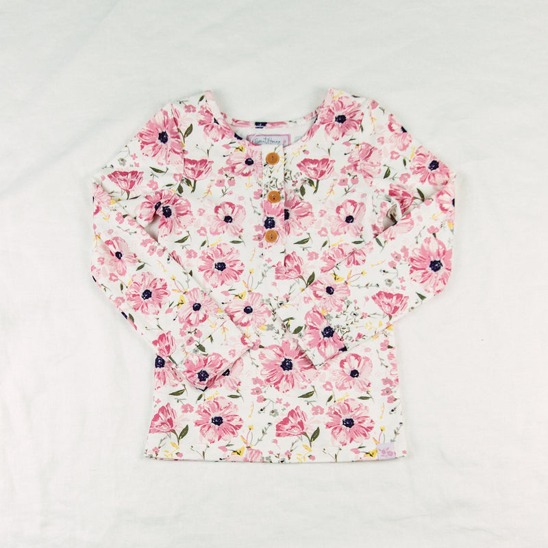 Lanie Layering Top - Poppies