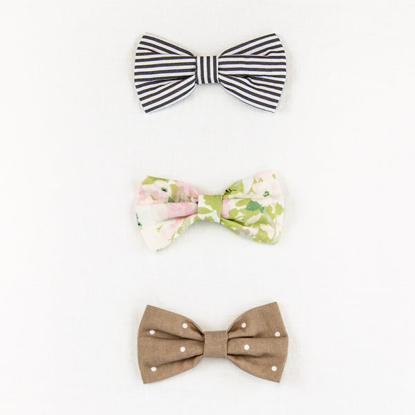 Bow Set Trio - Vintage Garden