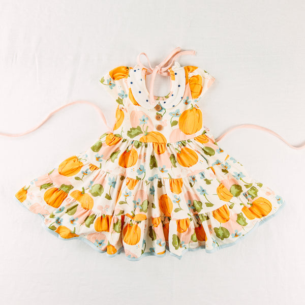 Flair Dress - Pumpkin