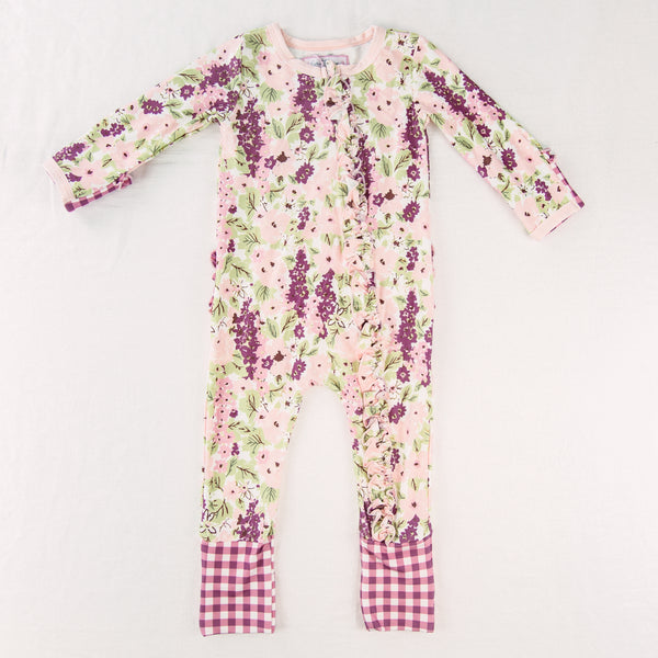 Dreamer Layette - Plum Floral