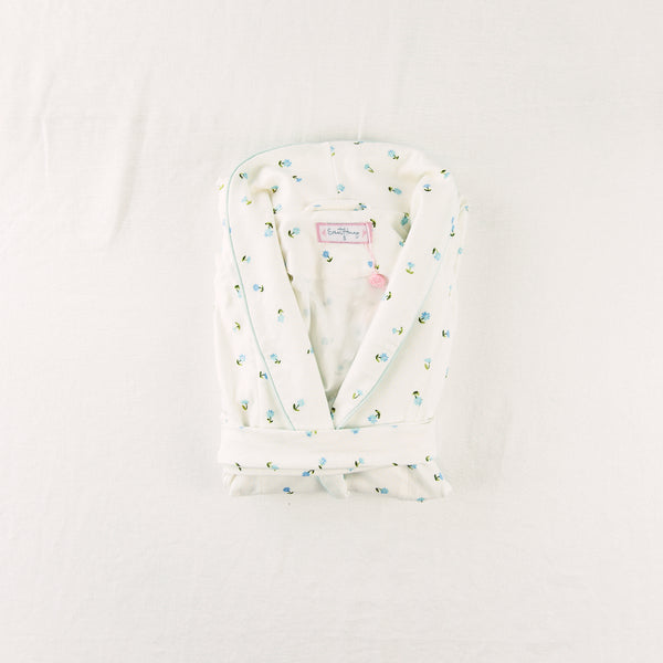 Women's Robe - Floral Dotty