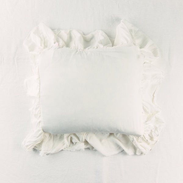 14 x 14 Pillow Cover - Ivory Linen
