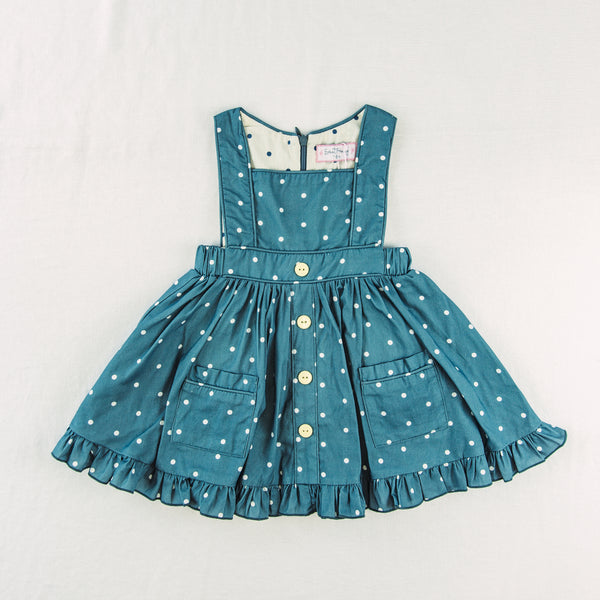 Julie Jumper - Dusty Blue Dotty