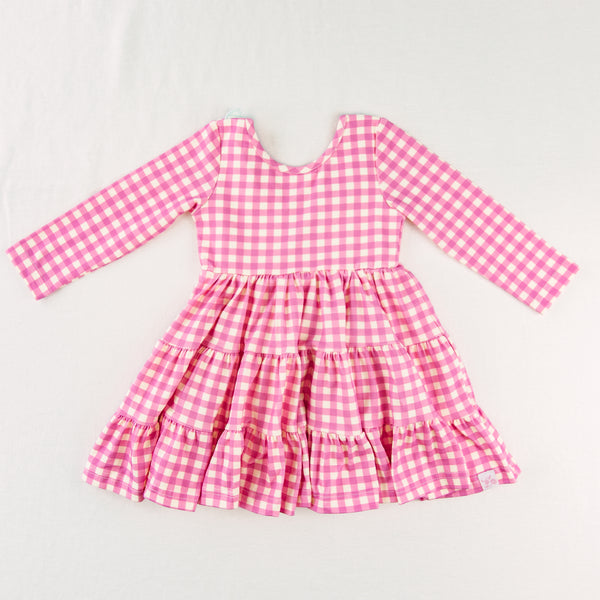 Flair Dress - Autumn Pink