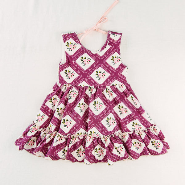 Flair Dress - Petit Four Plum