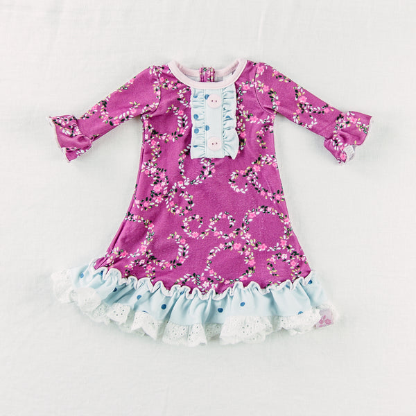 Doll Gown - Deep Orchid
