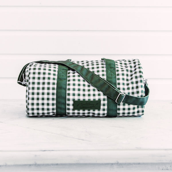 Everyday Duffle - Green Check