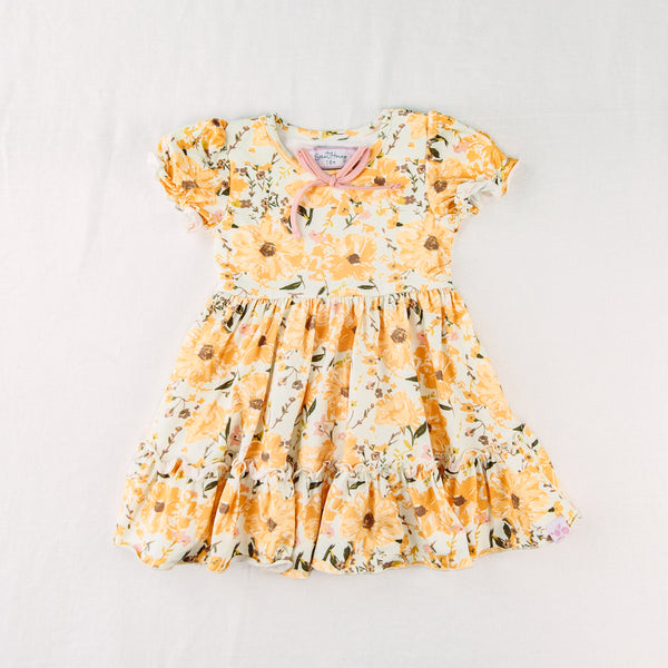 Flair Dress - Golden Poppies