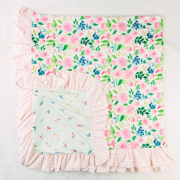 Dreamer Knit Blanket - Fresh Blooms